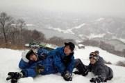 スノーボードは雪との格闘技