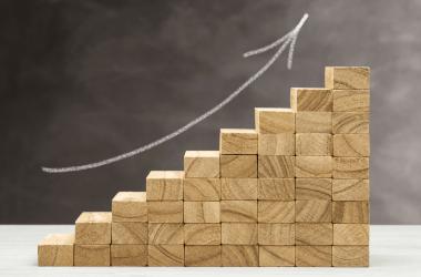 bloques que simulan crecimiento