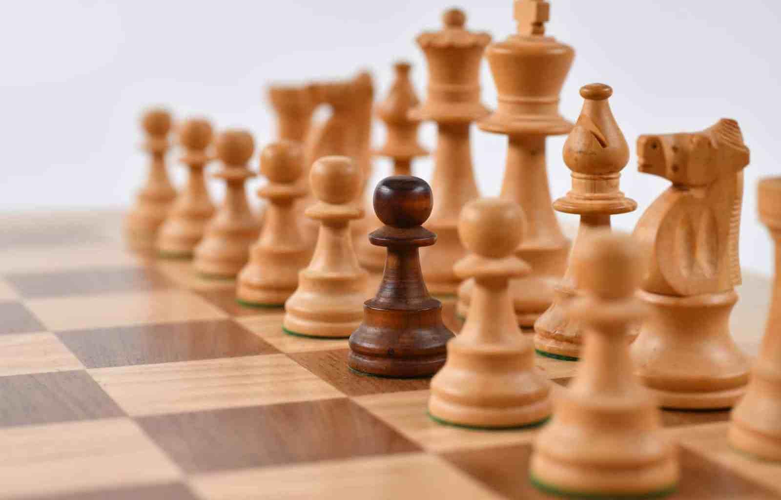 pieza única del ajedrez