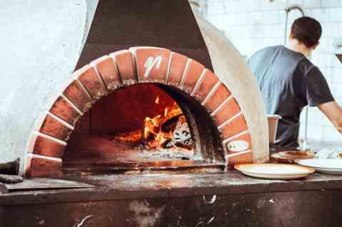 horno de pizzas