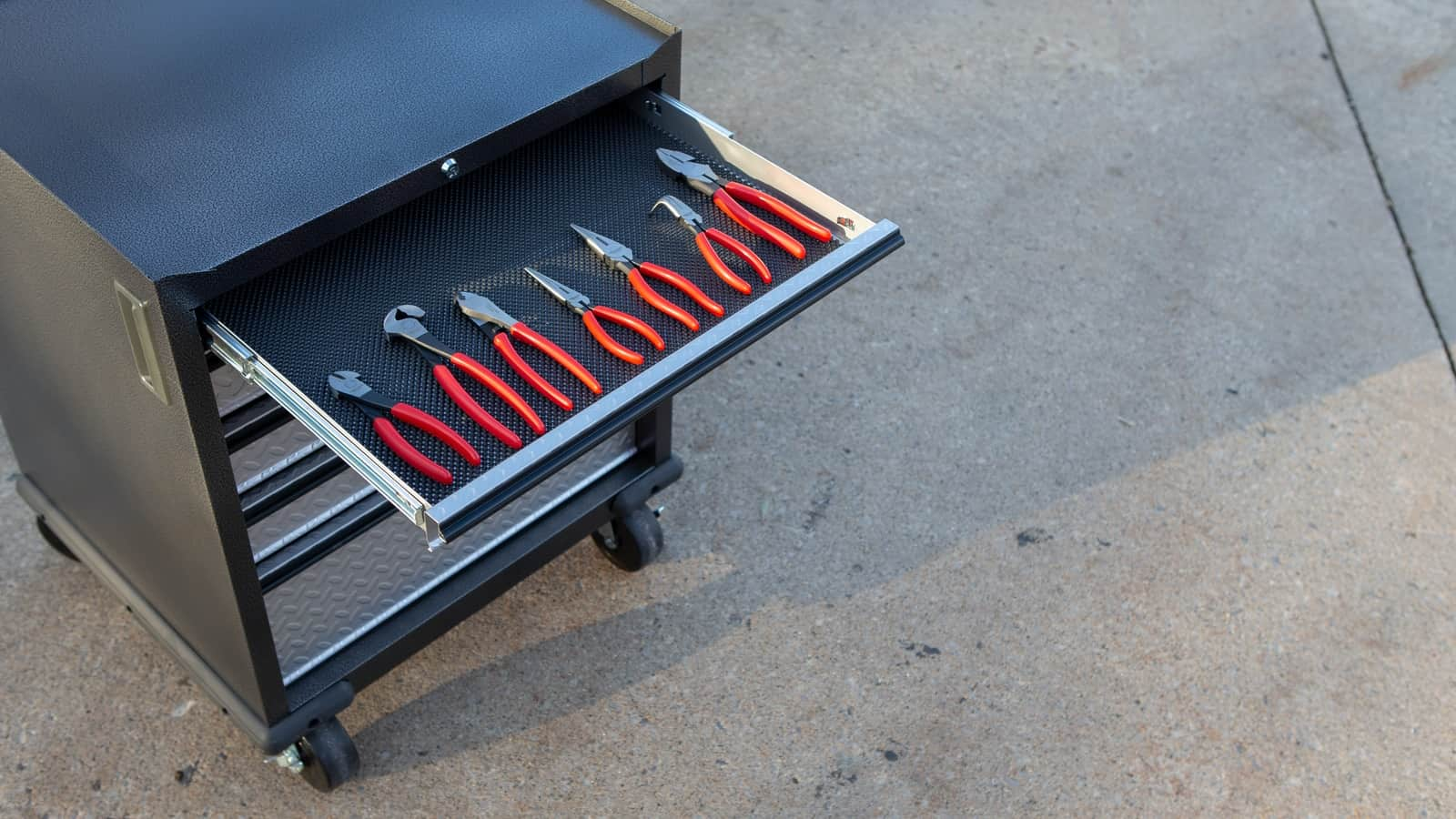 herramientas ordenadas