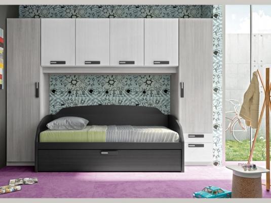 Consejos técnicos para elegir los armarios para la ha habitación juvenil.