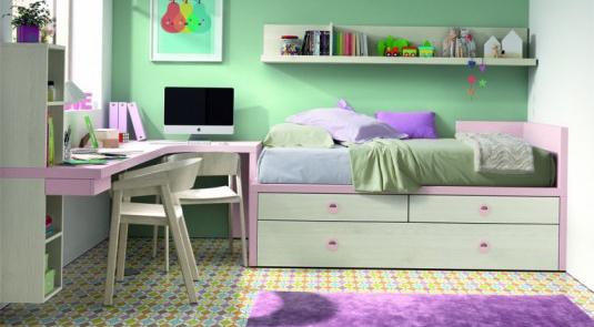 Colección de dormitorios juveniles PARABELLUM de Kazzano