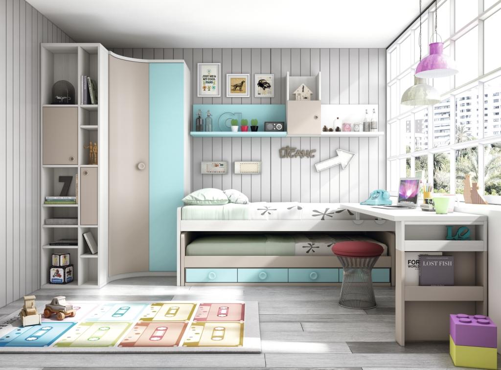 Nuevos muebles juveniles de Glicerio Chaves. ¡Un mundo de color!