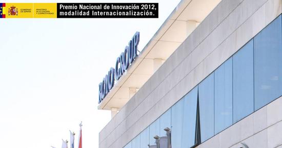 Royo Group, Premio Nacional de Innovación.