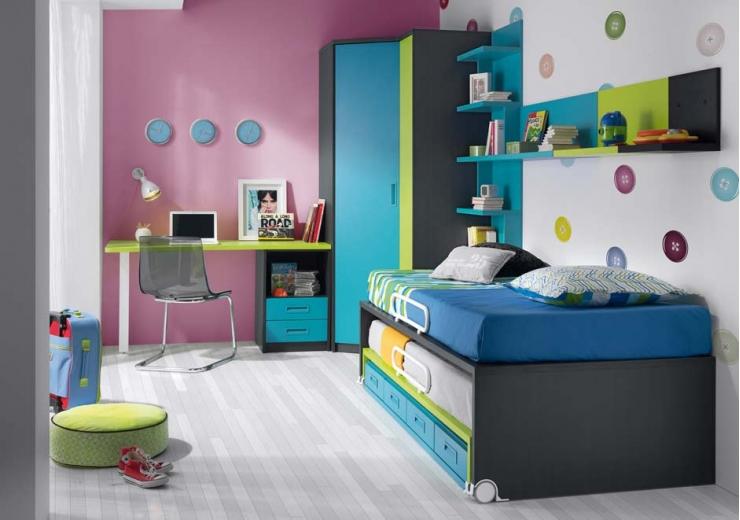 Las camas consejos para amueblar juveniles iii blog for Camas altas juveniles