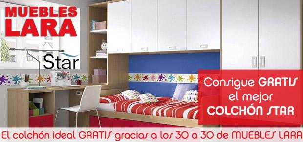 ¡El colchón ideal gratis gracias a los 30 a 30 de Muebles Lara!