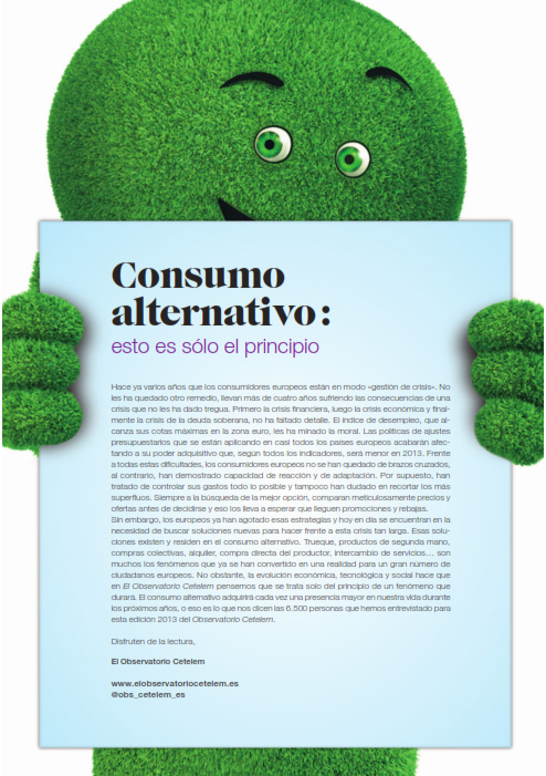 Tendencias de consumidor, resumen del Observatorio Cetelem, Vicent Miralles.