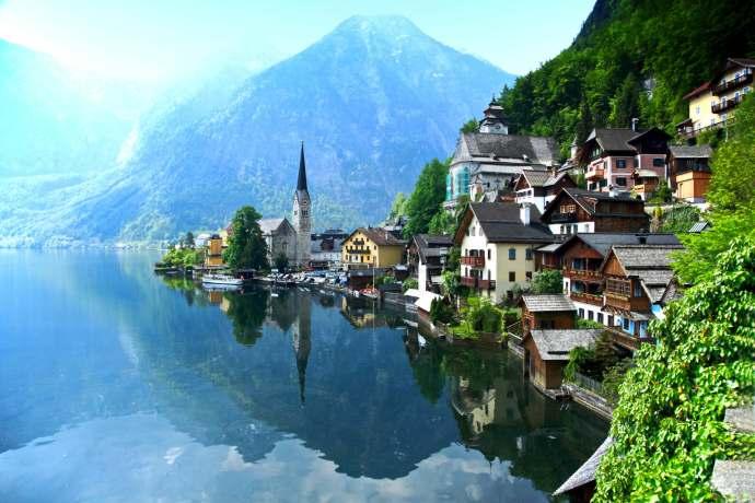 melhores lugares para viajar sozinho - austria