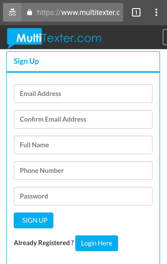 bulk sms mobile app