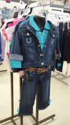 Little cowgirl outfit at Greeley Murdoch's