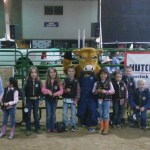 Rodeo All Star mutton busters claiming their fame
