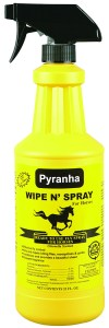 Biting Flies FAQ: Pyranha Wipe N' Spray 32 oz
