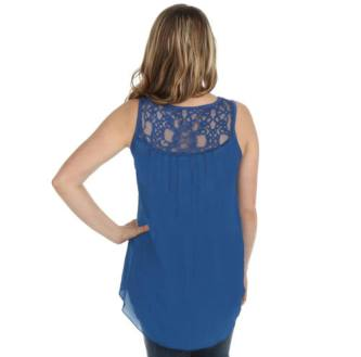 Cedar Rose Sheer Back Tank