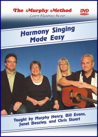 Harmony Singing DVD