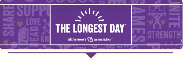 Alzheimer's Association Longest Day Logo