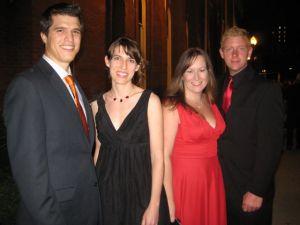 Joe Smart, Casey Henry, Megan Lynch, David Thomas