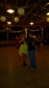 Kasey at the dance, waltzing.