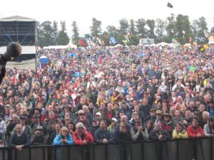 The crowd at Cropredy.