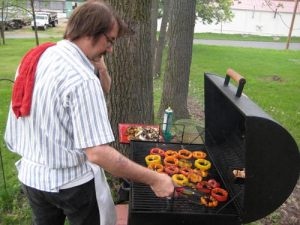 Buddy Woodward, King of the Grill