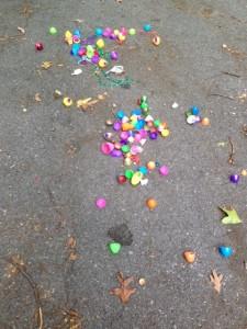 Exploded Easter Eggs