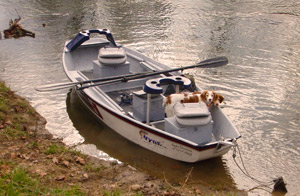 New Hyde Rocky Mountain Skiff Fly Fishing Boat