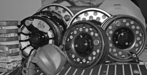 Fly fishing fly line selection