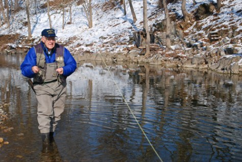 Fly Fishing in Virginia in December