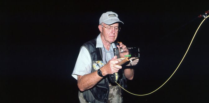 Enjoy The Challenge of Fly Fishing for Smallmouth Bass at Night