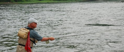 Fly Fishing Podcast--Swing Nymphing Technique