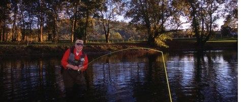 September Fly Fishing for Bass