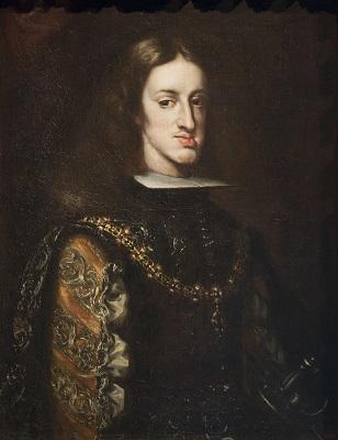 Claudio Coello, Retrat de Carles II, 1680-1683, Museu Nacional d'Art de Catalunya.