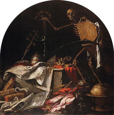 Juan de Valdés Leal, In ictu oculi, 1672. Hospital de la Caridad de Sevilla.