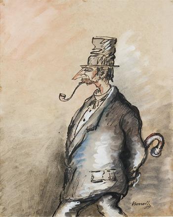 Isidre Nonell, Els envejosos,1909