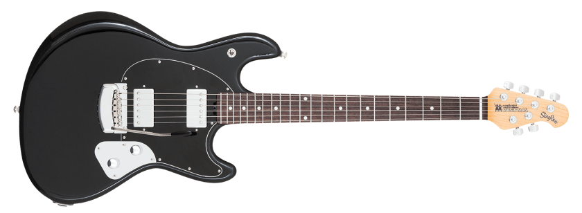 stingrayguitar black