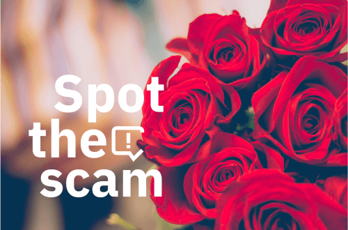 Spot the scam-valentines
