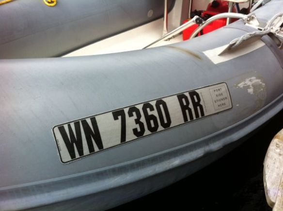 New registration numbers