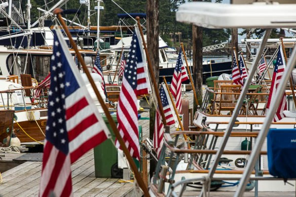 Archimedes Grand Banks Rendezvous flags
