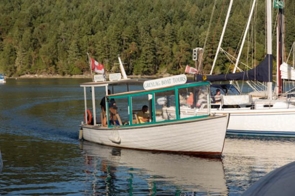 mv Archimedes Cowichan Genoa Bay ferry