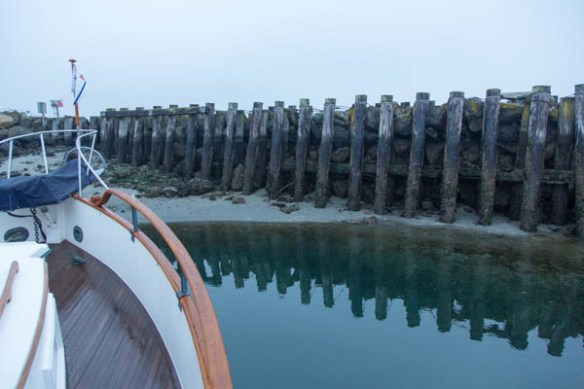 mv Archimedes Point Hudson low tide 1