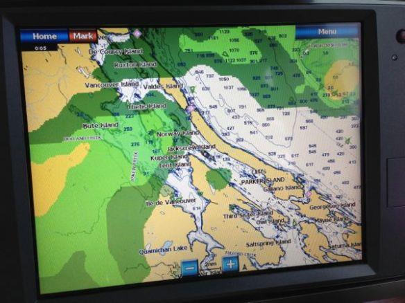 mv Archimedes XM Weather on Garmin 7212