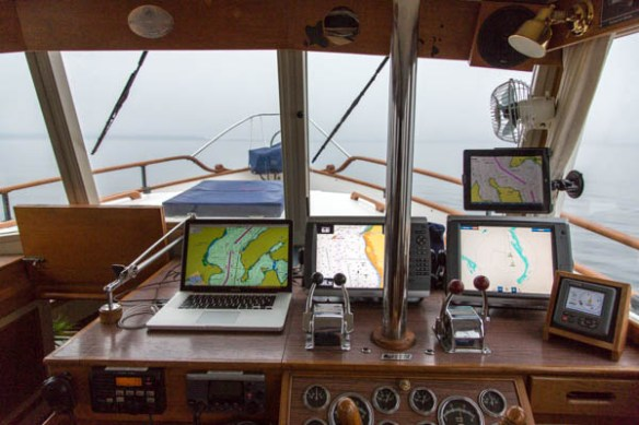 mv Archimedes the view from inside