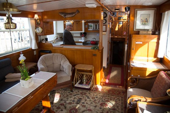 mv Archimedes Seattle Boat Show Arianna inside 1