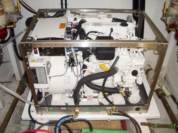 mv Archimedes Gallery Marine installing the generator 3