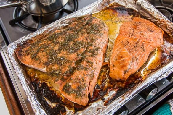 mv Archimedes Kim's great salmon recipe