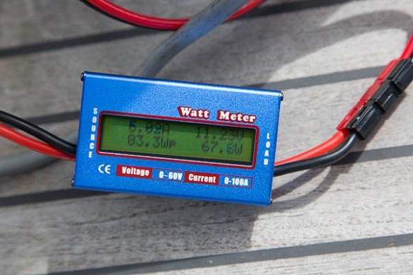 mv Archimedes deck freezer electric test