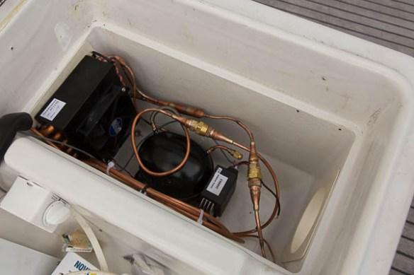 mv Archimedes deck freezer new guts