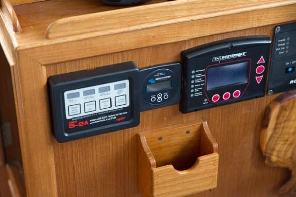 mv Archimedes propane monitor install 4