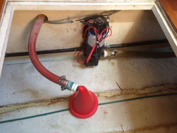 mv Archimedes pump repair 1