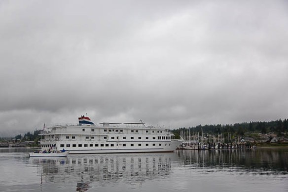 mv Archimedes cruise ship in Poulsbo 1